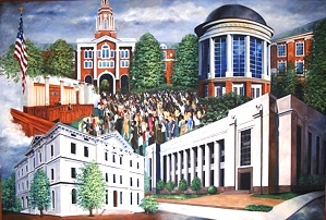 Federal Courthouse Mural