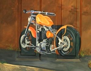 Motorcycle customized