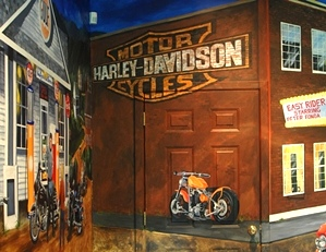 Old Harley Sign