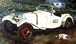 1953 HRG, British Roadster