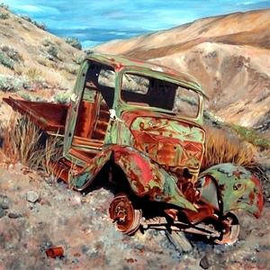 Classic Automotive Art Prints