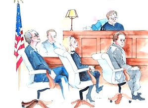 Judge Richard Baumgartner Trial