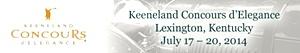 Keeneland Concours d'Elegance, 2014