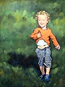 Leyla, a child's portrait