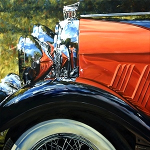 Orange is the New Black | 1928 Auburn Speedster