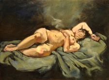 Woman at Rest